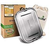 Blockhütte® Premium Edelstahl Brotdose in verschiedenen Größen