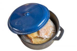 Topf zum Brotbacken