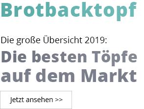 Brotbacktopf Vergleich 2019