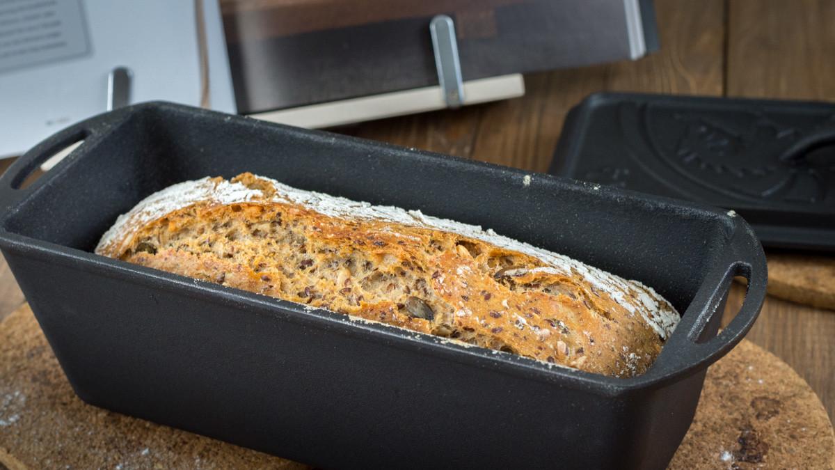 Brotbacken mit Petromax K4 Kastenform