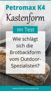 Brotbackform im Test: Petromax K4