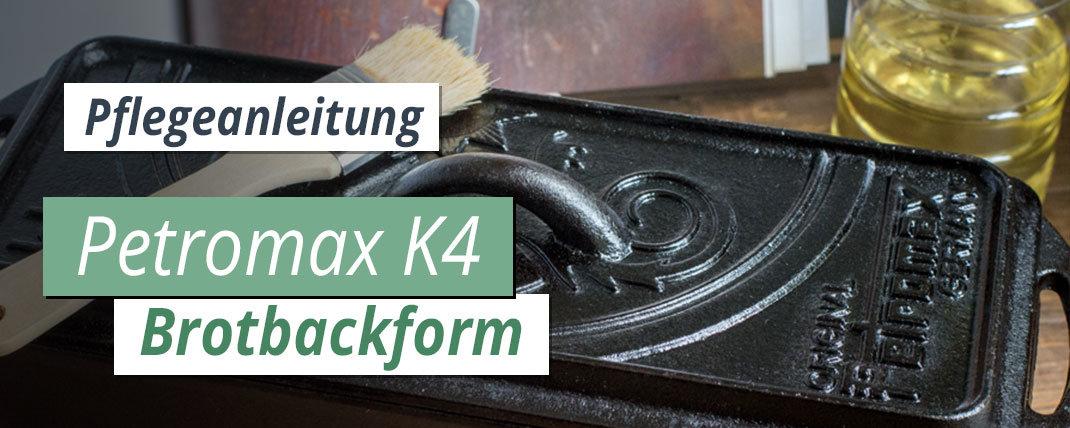 Petromax K4 Einbrennen & Pflegen