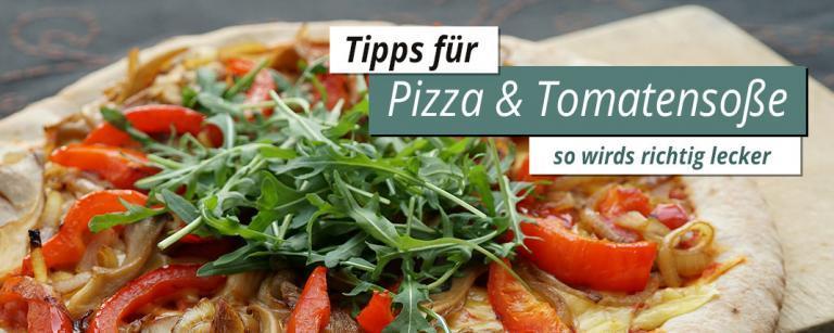 Pizza selber backen