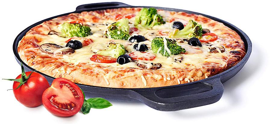 Pizzastein aus Gusseisen