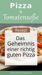 Rezept für Pizza