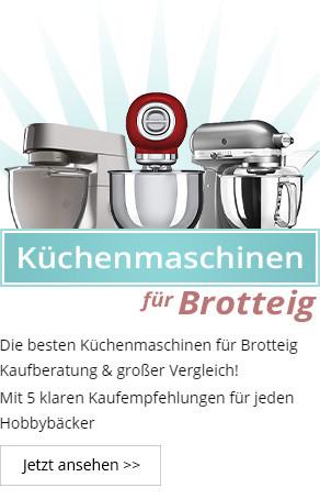 Küchenmaschine für Brotteig