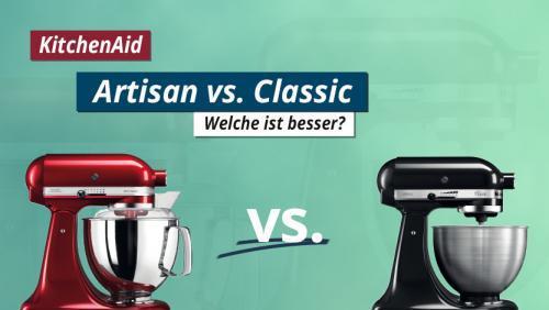 KitchenAid Artisan vs. Classic