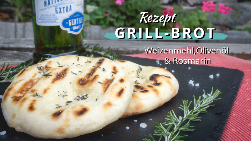 Grillbrot – Brot direkt im Grill gebacken