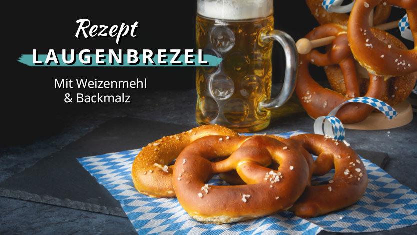 Laugenbrezel – fast wie aus Bayern