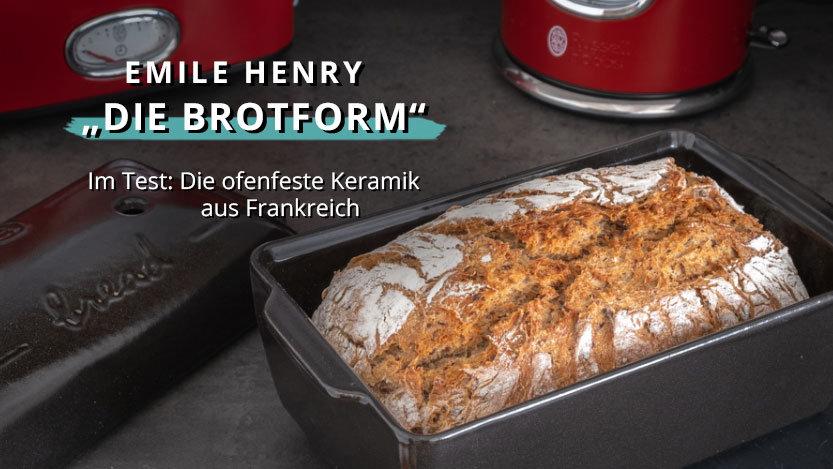 Verblüffend praktisch? Die Brotform vom französischen Hersteller Emile Henry