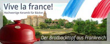 Emile Henry - Brotbacktopf aus Frankreich
